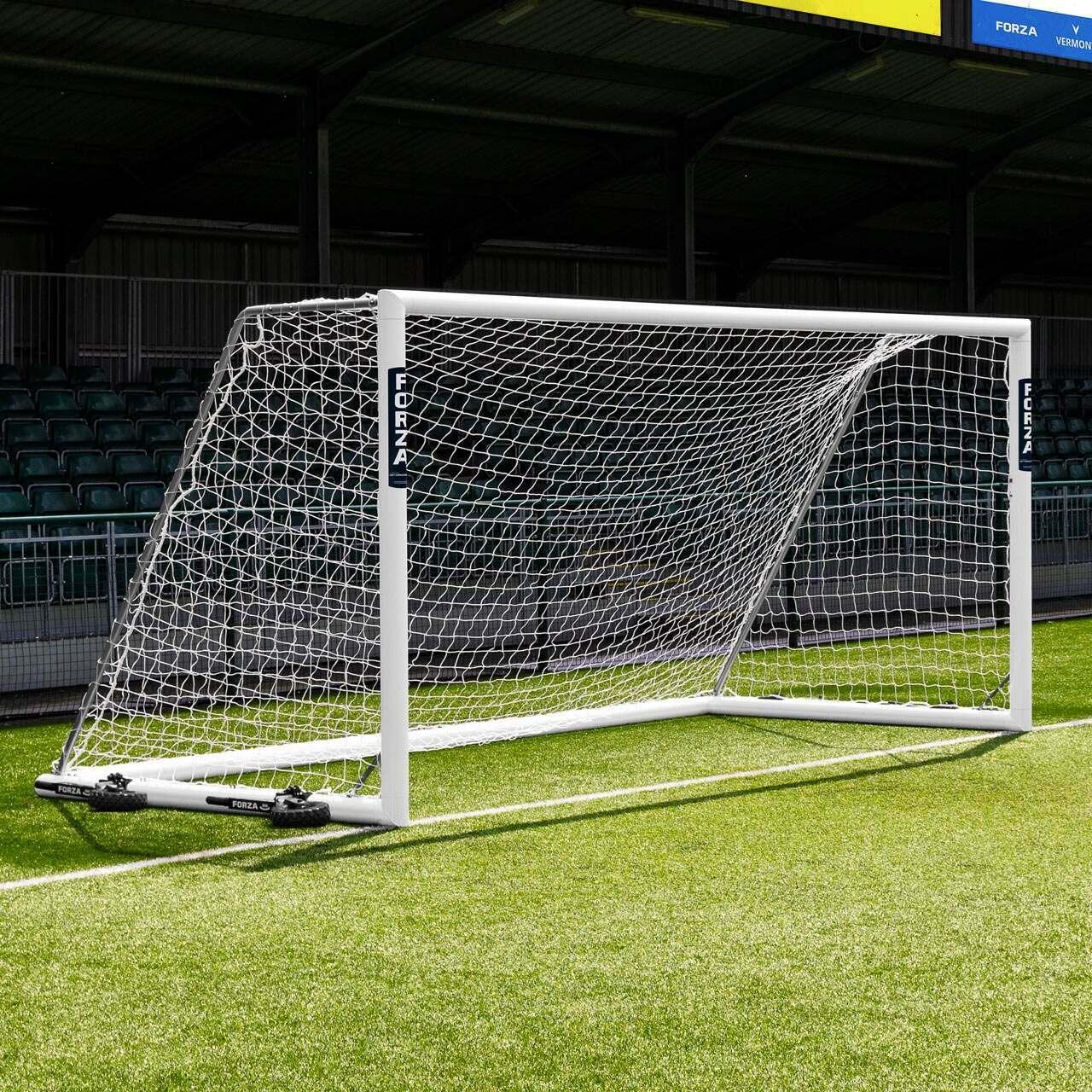 16 x 7 FORZA Alu110 Freestanding Football Goal
