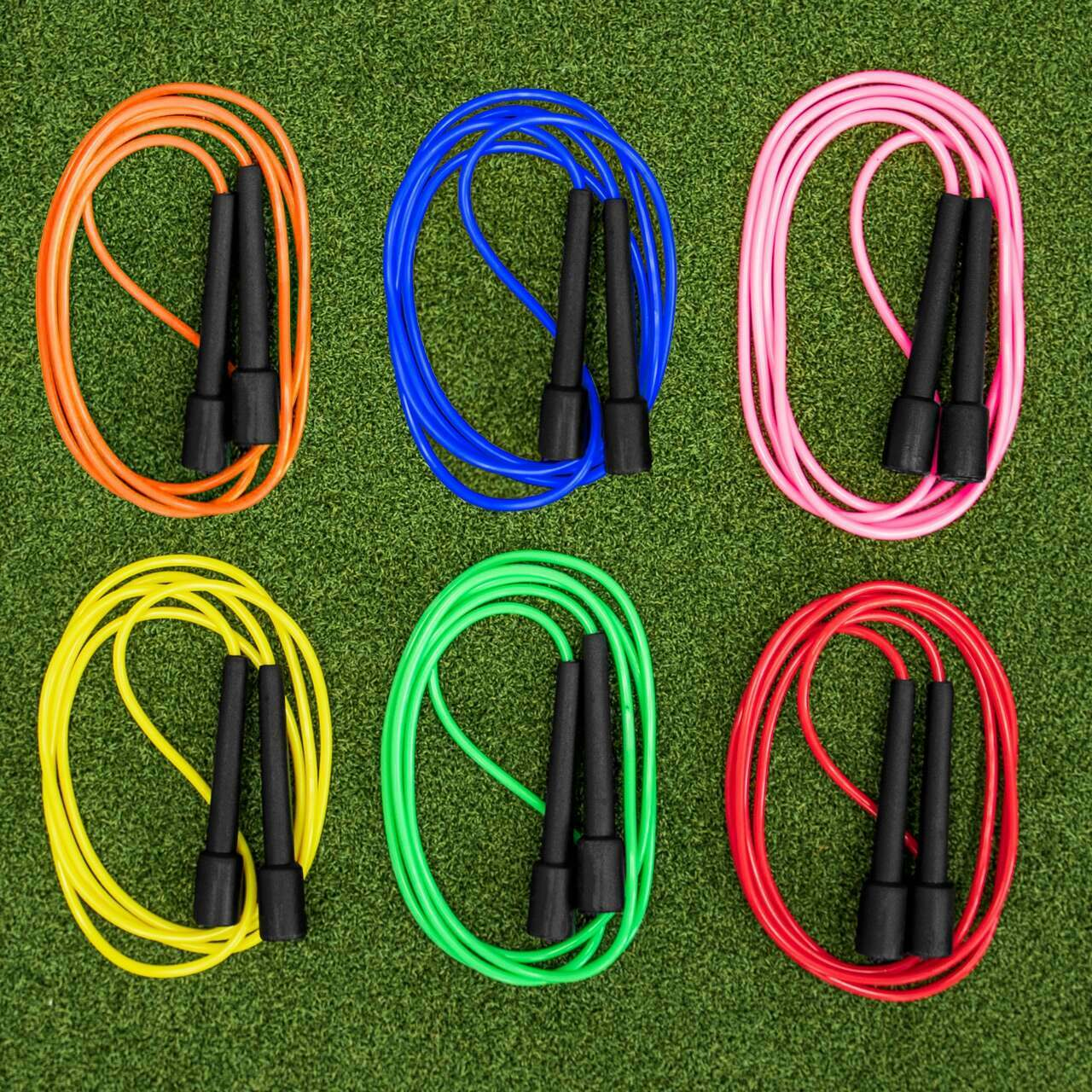 Plastic Skipping Ropes [Pack of 6]