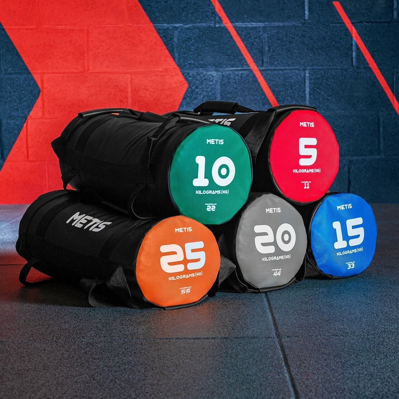 METIS Power Weight Bags [11-55lbs]