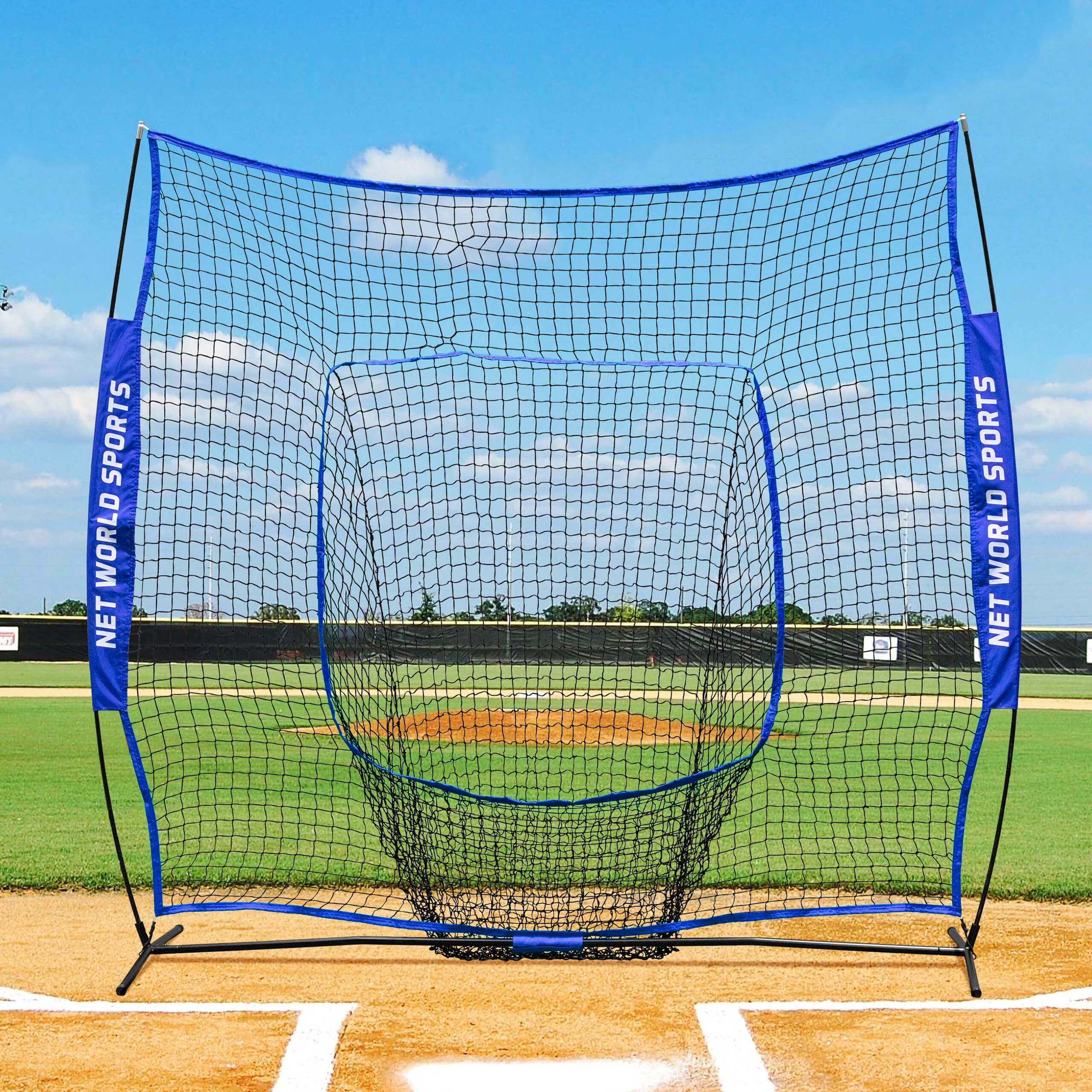 2 1m X 2 1m Fortress Pop Up Baseball Sock Net Net World