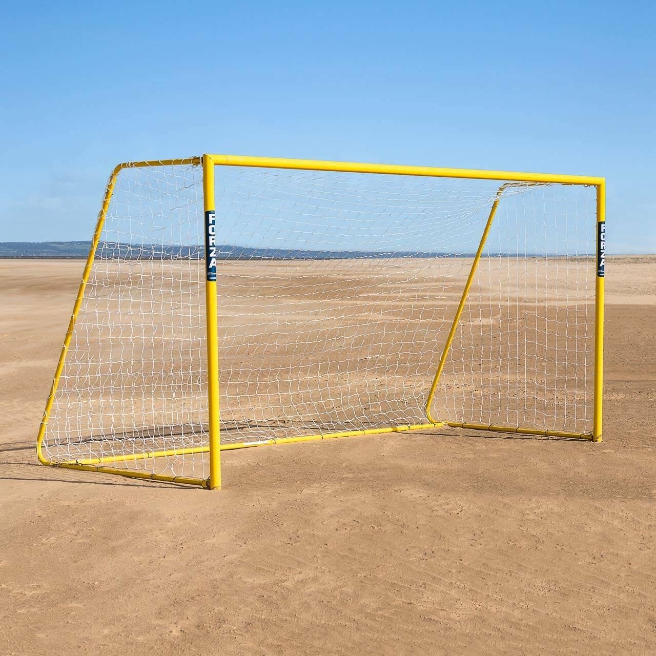 3.66m x 1.83m FORZA Alu60 Folding Beach Soccer Goal