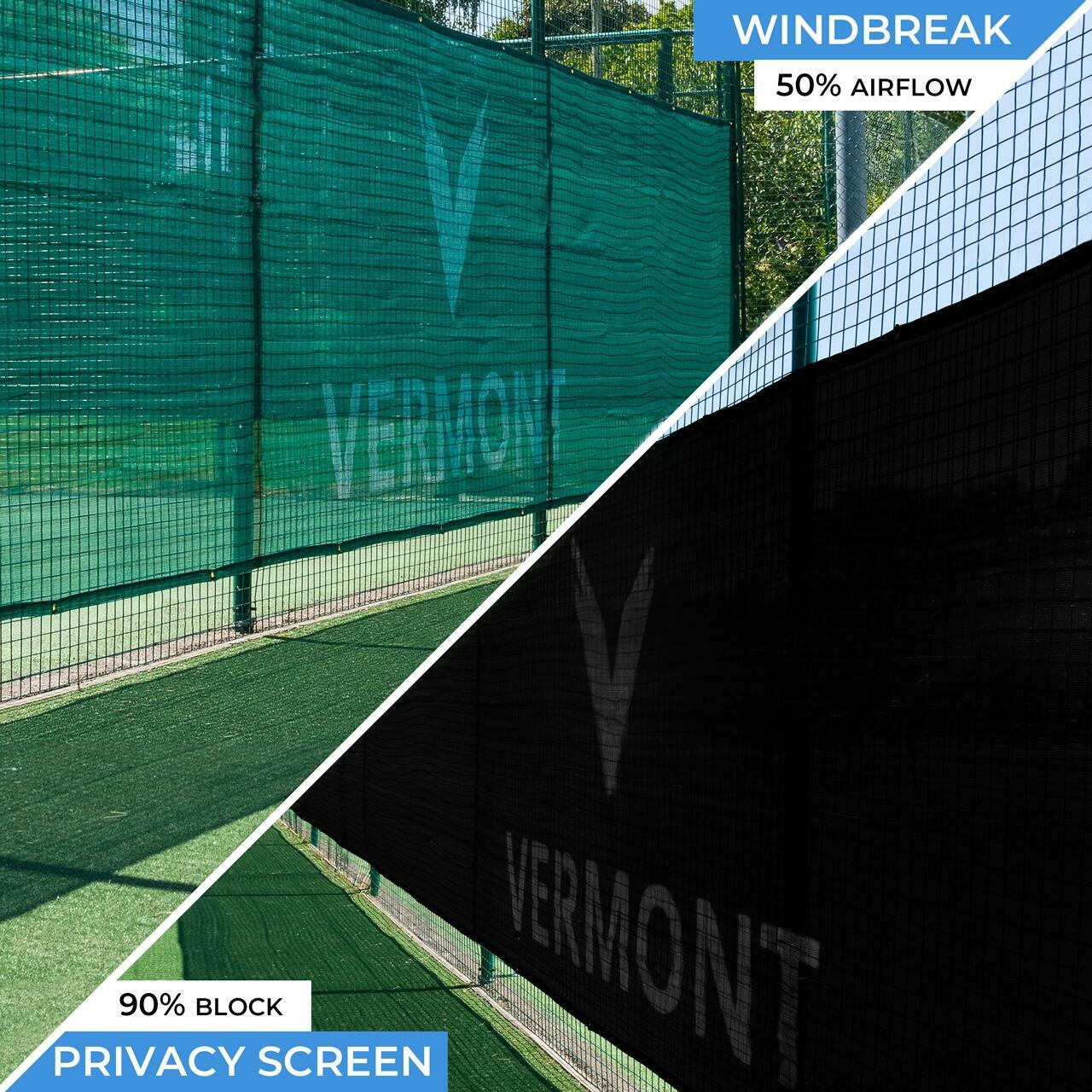 Red cortavientos de privacidad para pistas de Tenis