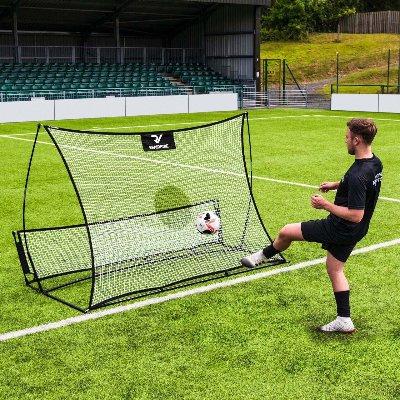 RapidFire Flash II Pop-Up Soccer Rebounder
