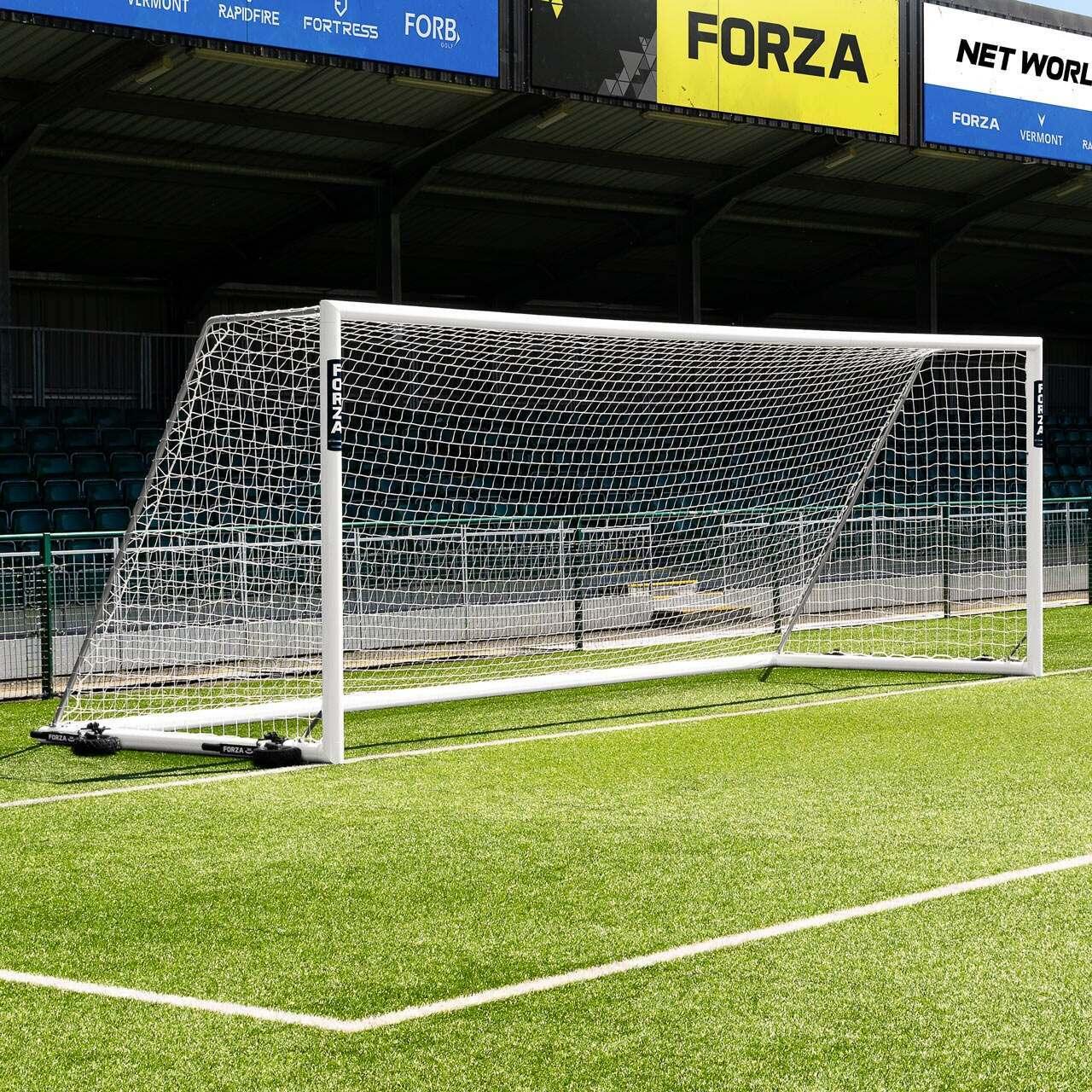 Portería de Fútbol amovible de 7,3m x 2,4m FORZA Alu110