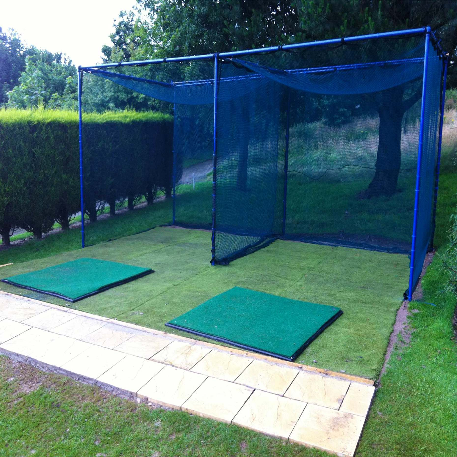 Fixed Golf Cage   Golf Training Hitting Nets   Net World ...