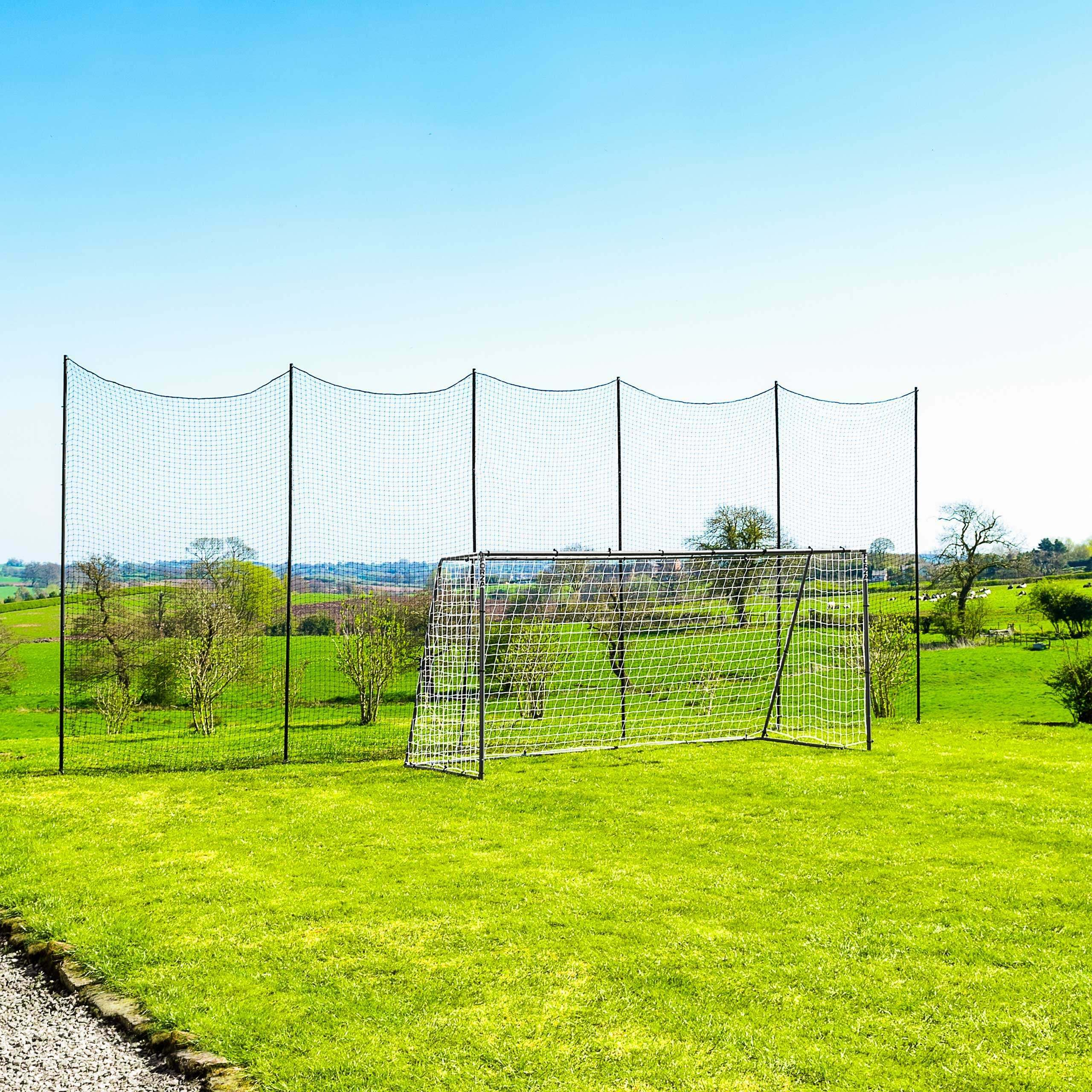 Stop That Ball™ - Socketed Ball Stop Net & Post System