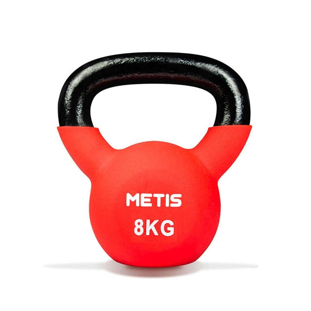 Pesas Rusas Kettlebells de neopreno de Metis [4kg-20kg]