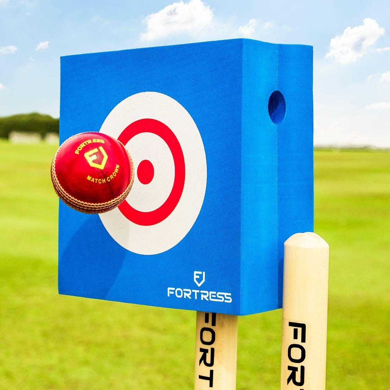 FORTRESS Foam Cricket Bowling Target