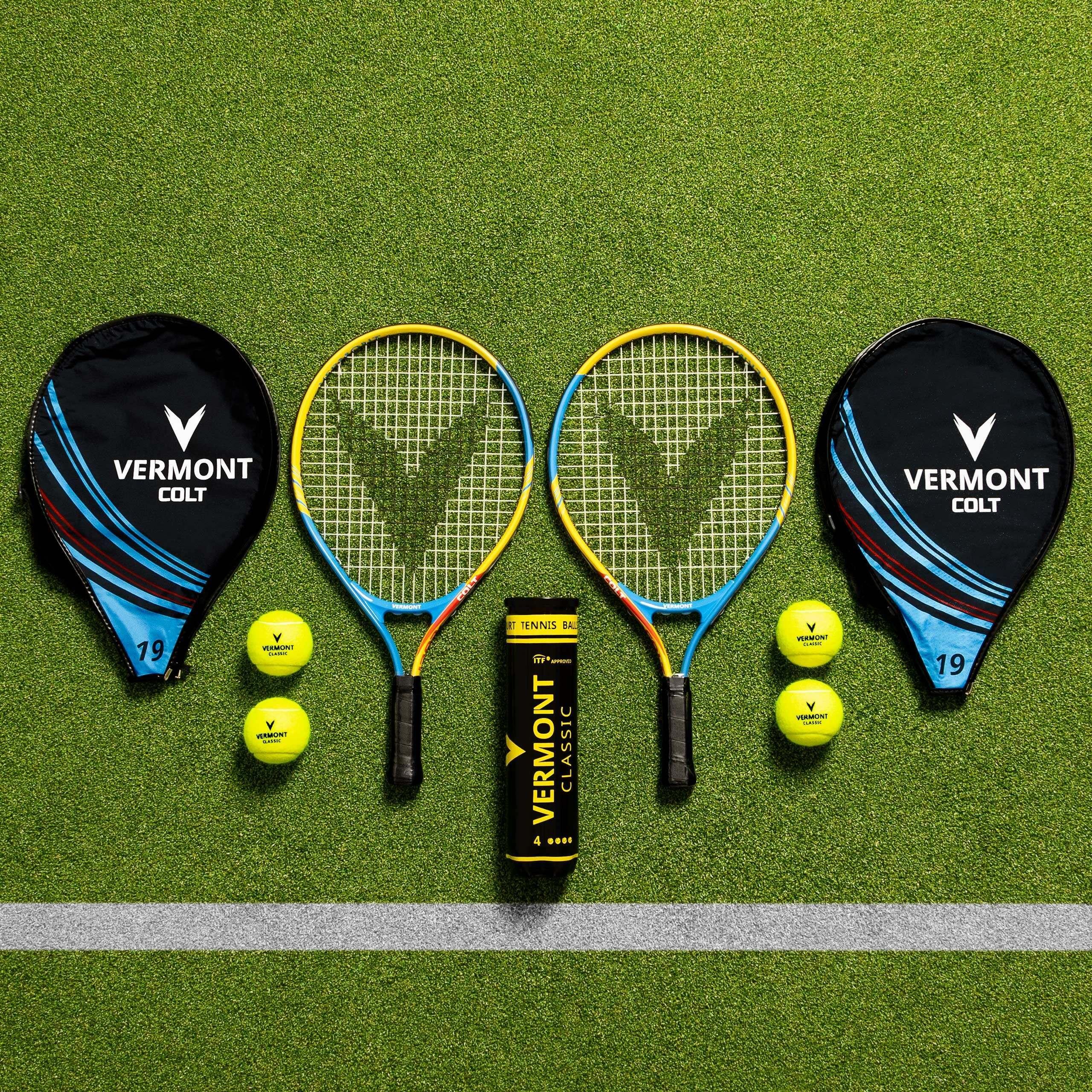 Vermont Tennis Racket & Ball Set [2 Player]