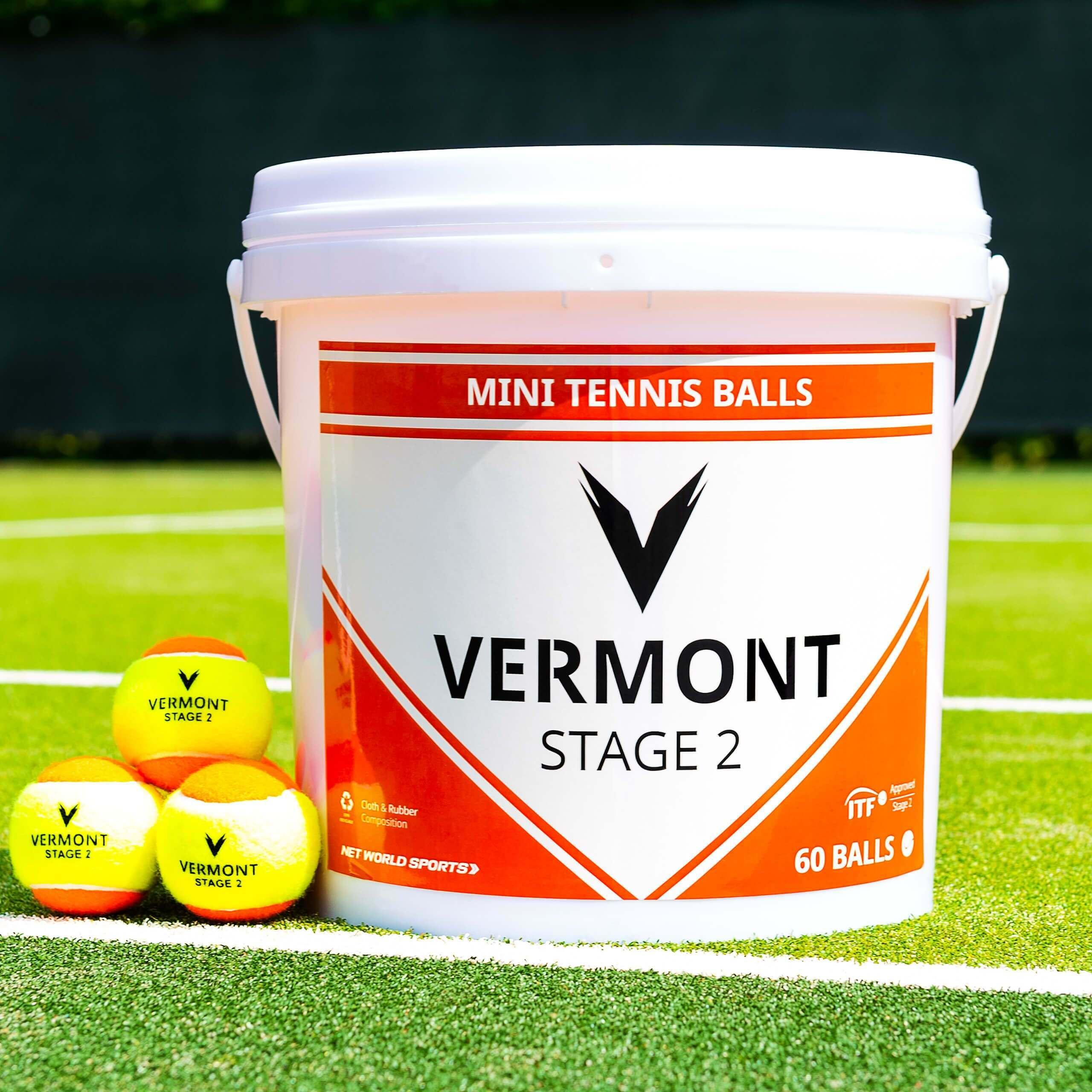 Vermont Mini Orange Tennis Balls [Stage 2]