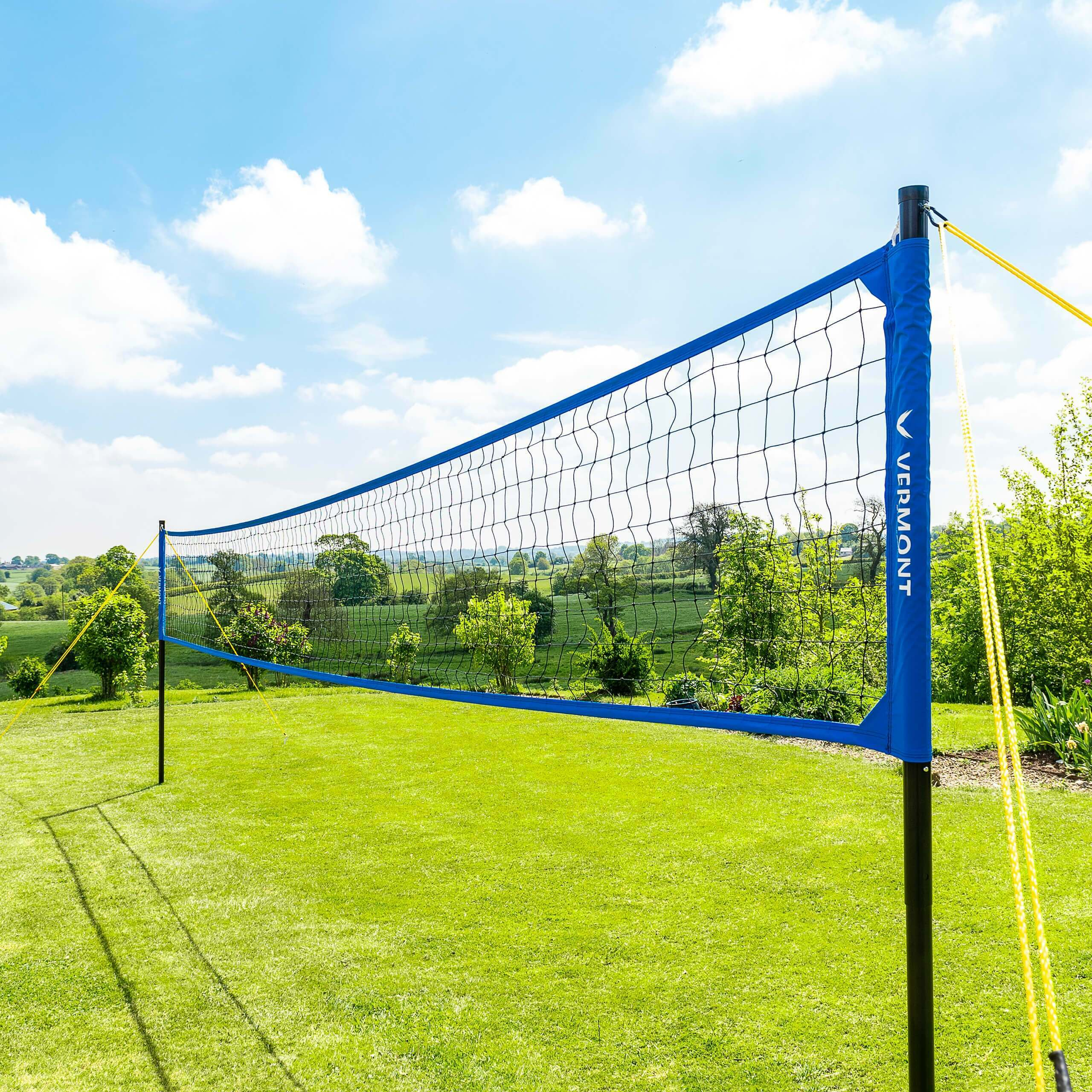 Vermont Portable Volleyball Sets [Beach & Regulation]
