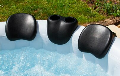 COSYSPA HOT TUB HEAD RESTS & DRINKS HOLDER SET