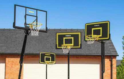 BASKETBALL HOOP SIZES