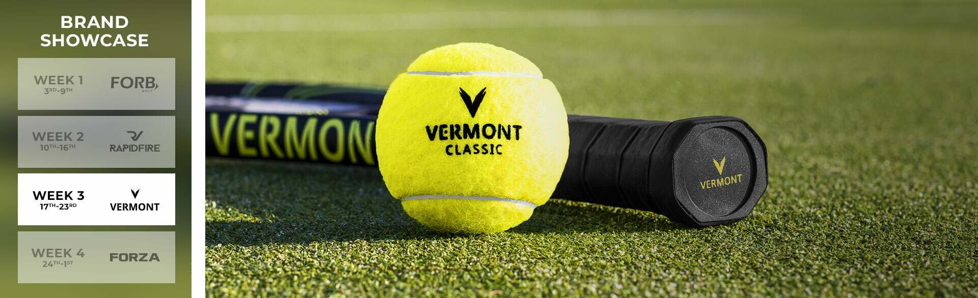 Vermont Tennis Giveaway