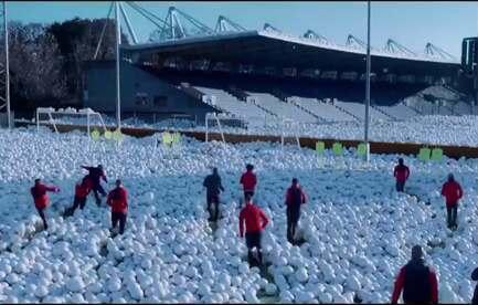 Sky Sports Christmas Football Advert