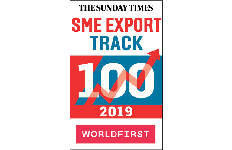 The Sunday Times World First SME Export Track 100 2019