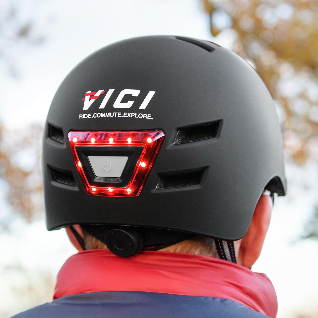 Helmet with lights