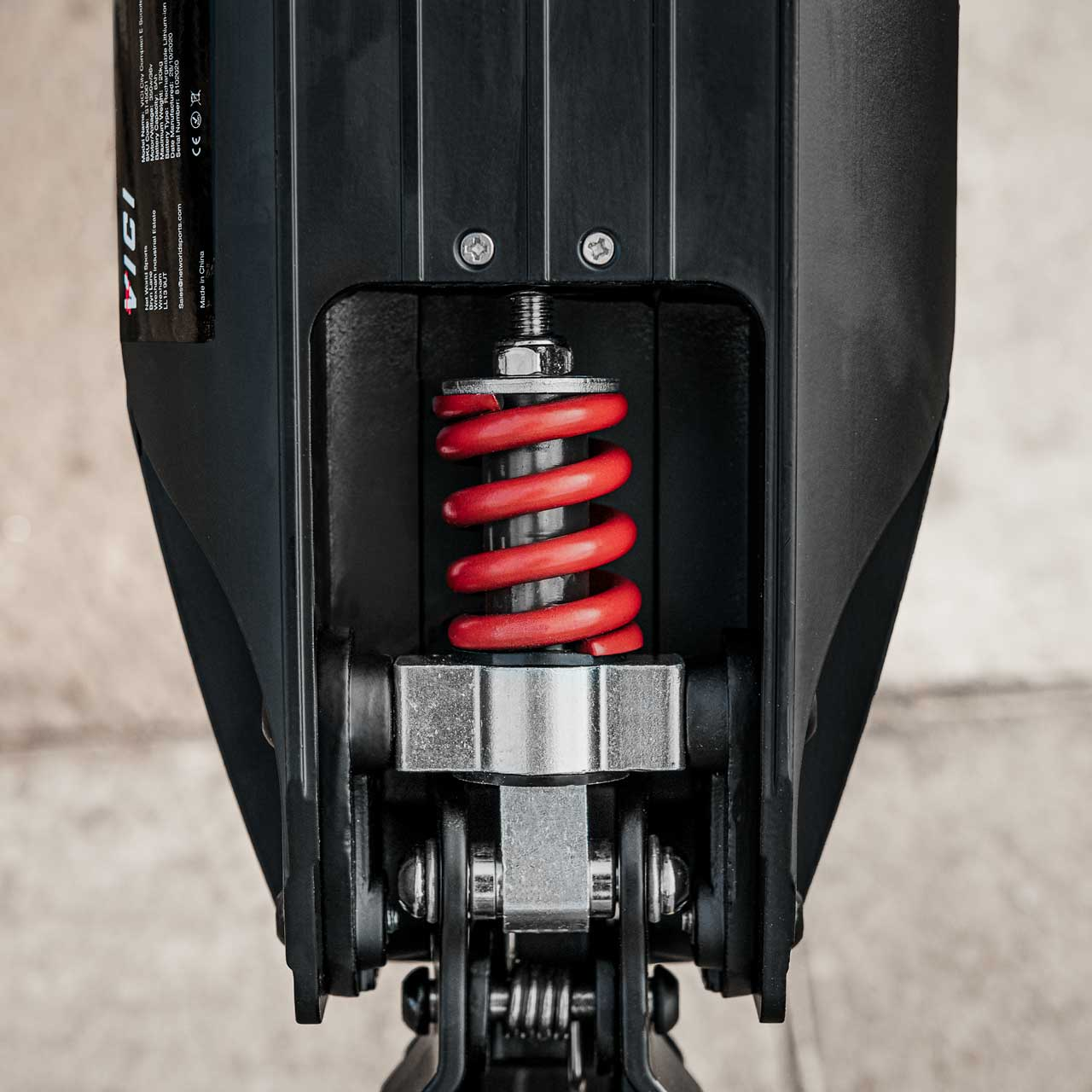 Scooter suspension