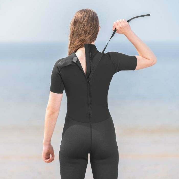 womens wet suit | shorty wetsuit