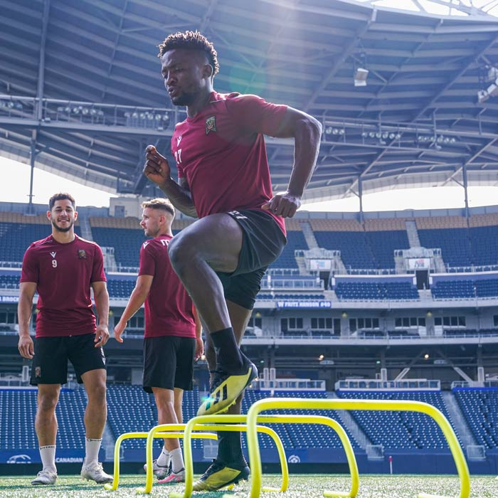 Three Different Heights of Speed Agility Hurdles Training