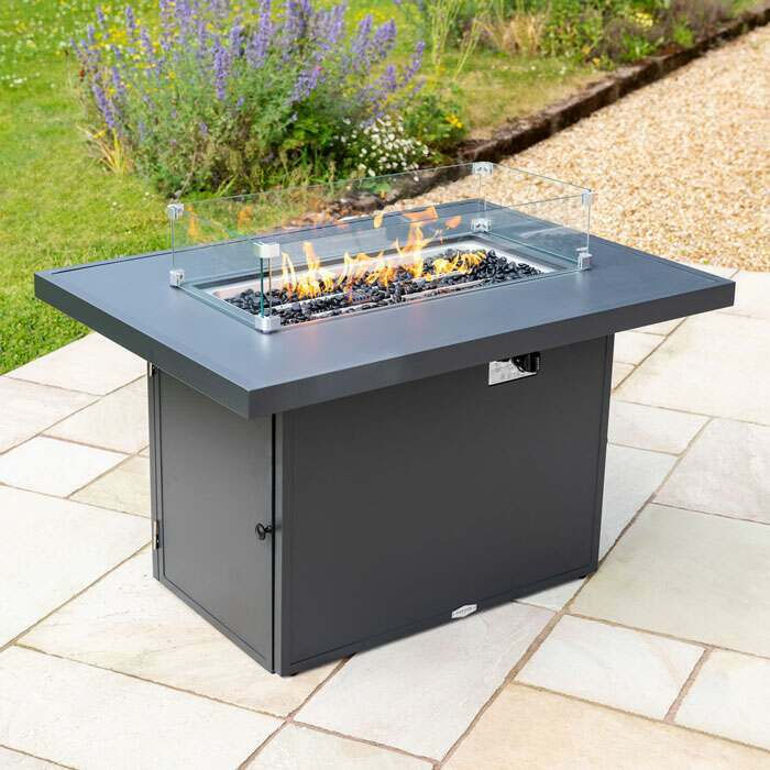 alu garden furniture sets