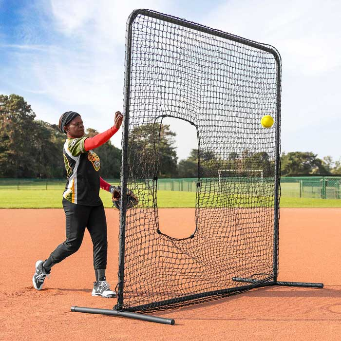FORTRESS Softball Pitching Screen