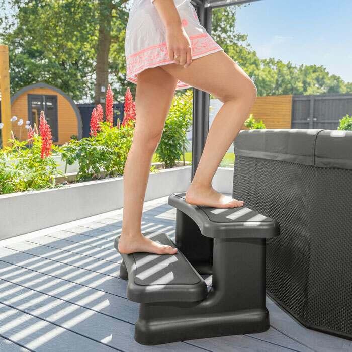Inflatable Pool Steps | CosySpa Steps