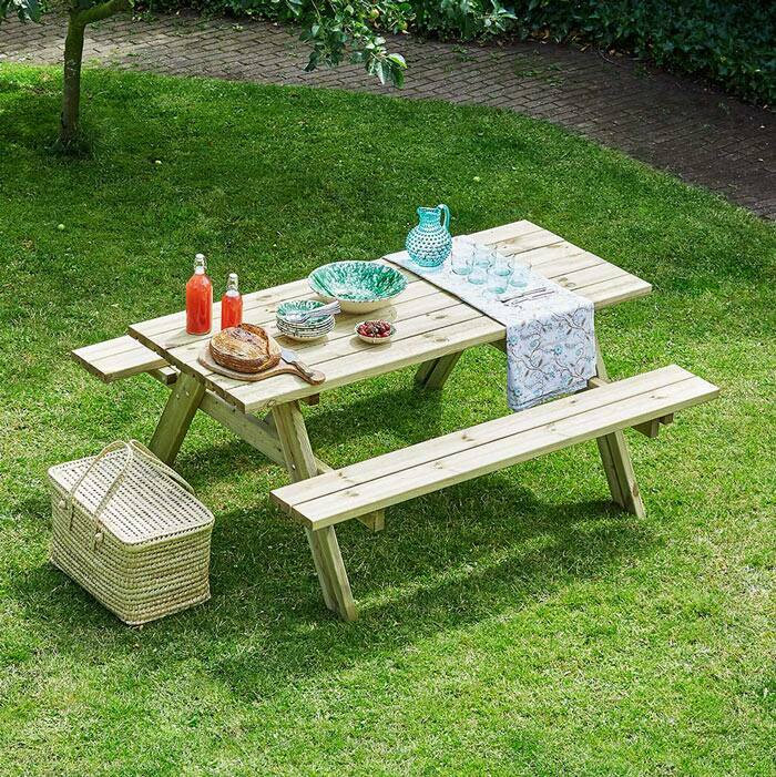 picnic table | outdoor bench