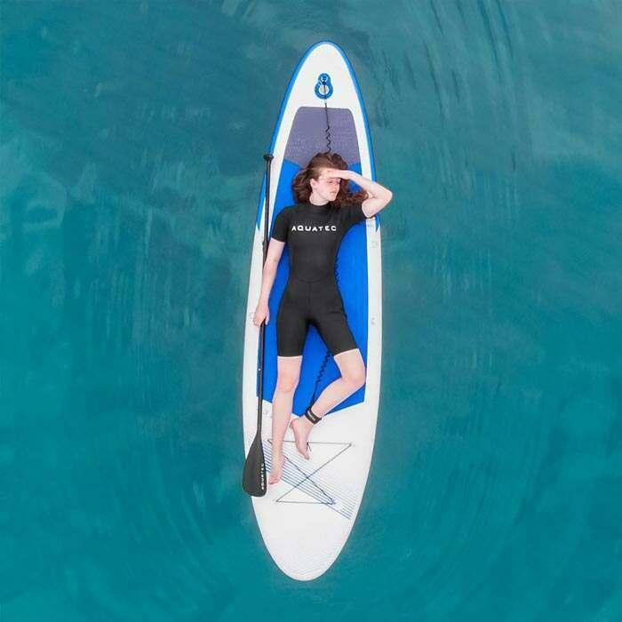 flexible shorty wetsuit