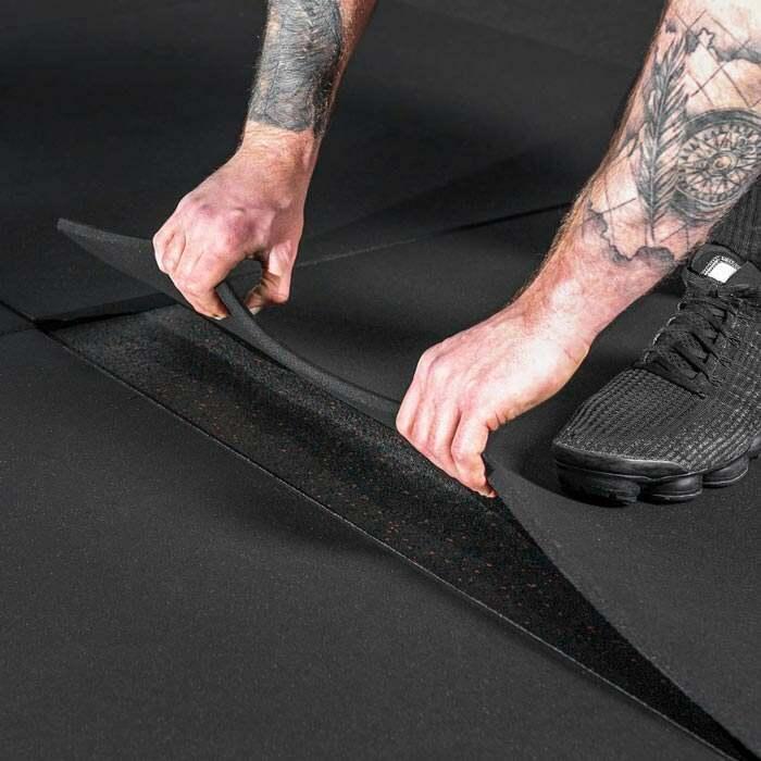 tapis de gym | dalle de caoutchouc