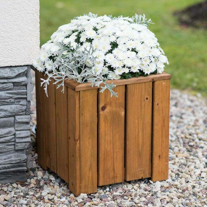 FSC approved wood planters