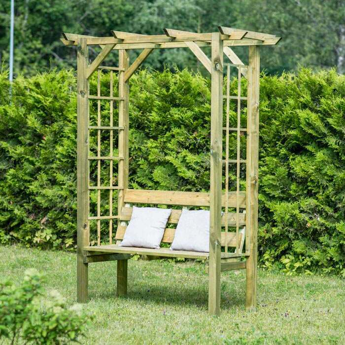 premium wooden benches