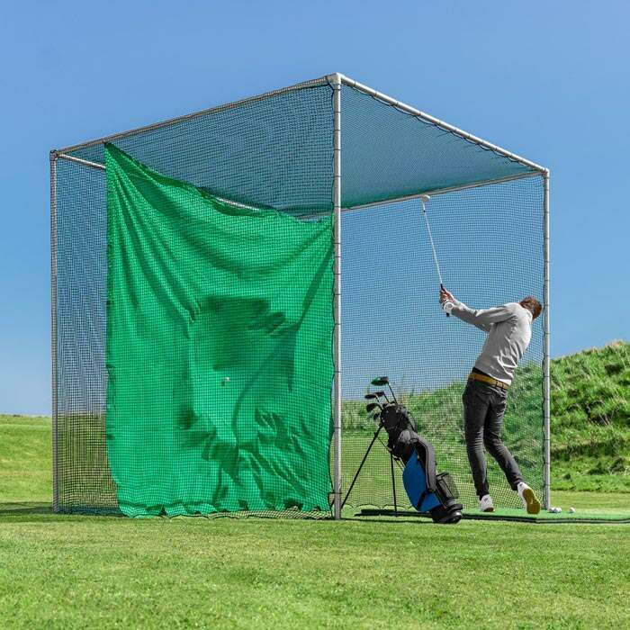Professional Golf Cages | Golf Cage With Impact Panel