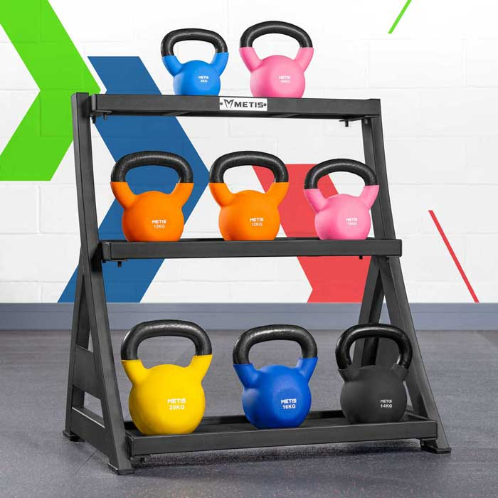 Kettlebell Storage Rack | Kettlebell Shelf