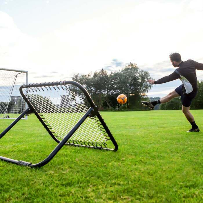 Single Sided Soccer Rebounder Net | Soccer Training Equipment For Solo Practice
