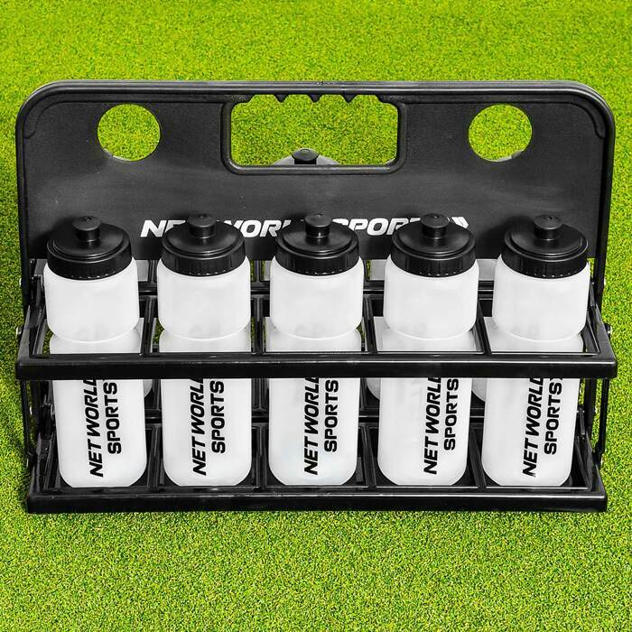 Pack of 10 Sports Water Bottles | 750ml Football Water Bottles