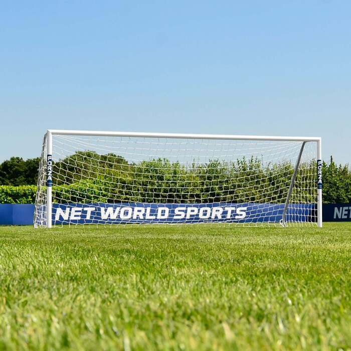 12 x 4 FORZA Alu60 Soccer Goals | 5-A-Side Soccer Goal
