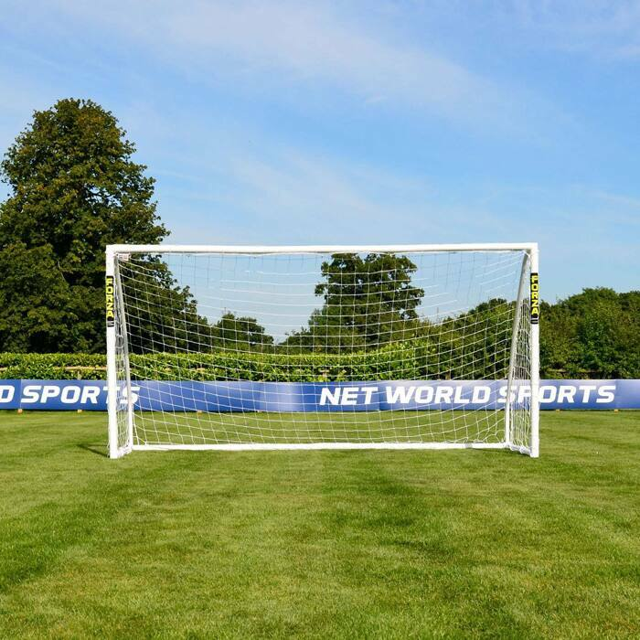 3.7m x 1.8m FORZA Match Football Goal | Kids Football Goals