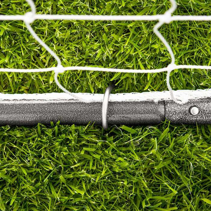 Weatherproof Steel Football Goal Posts | Rot-Proof Football Goal Net