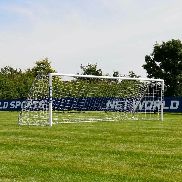 5m x 1.2m FORZA Alu60 Football Goals | 5 A Side Senior Football Goal