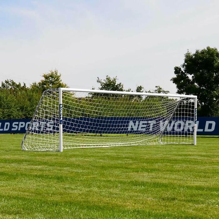 16 x 4 FORZA Alu60 Soccer Goals | 5 A Side Senior Soccer Goal
