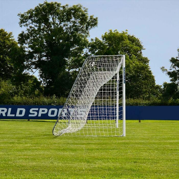 18.5ft x 6.5ft FORZA Alu60 Soccer Goals | Soccer Goal For All Age Groups