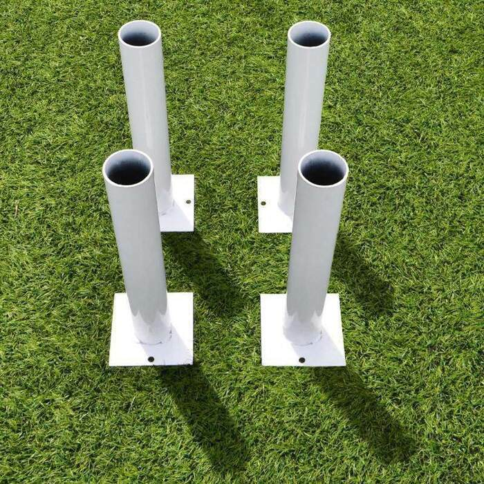 ball stop post ground sockets