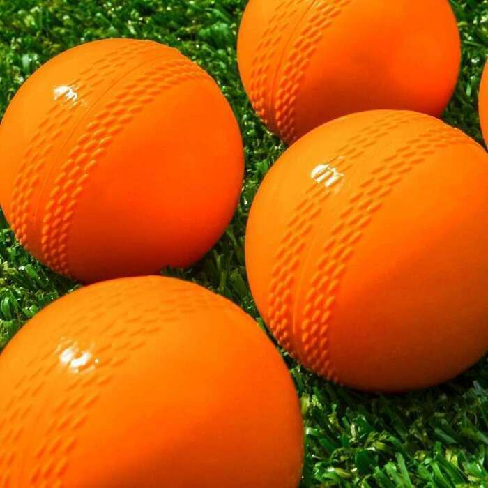 Plastic Cricket Training Balls | Orange Senior Cricket Balls