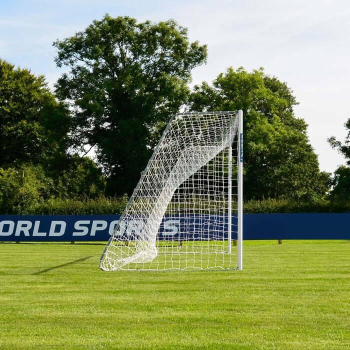 6.4m x 2.1m FORZA Alu60 Soccer Goal | Junior 11v11 Training Soccer Goals
