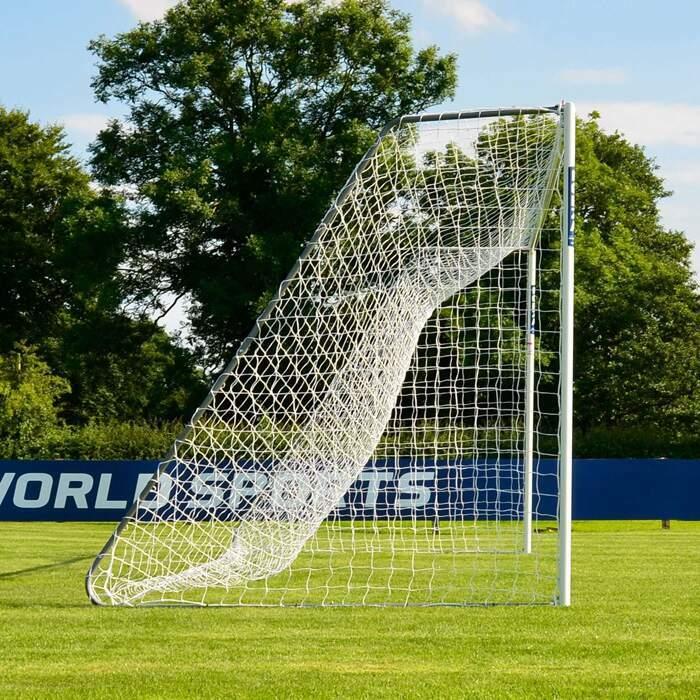 24ft x 8ft Aluminium Football Goal | Best 11v11 Football Goals For Matches