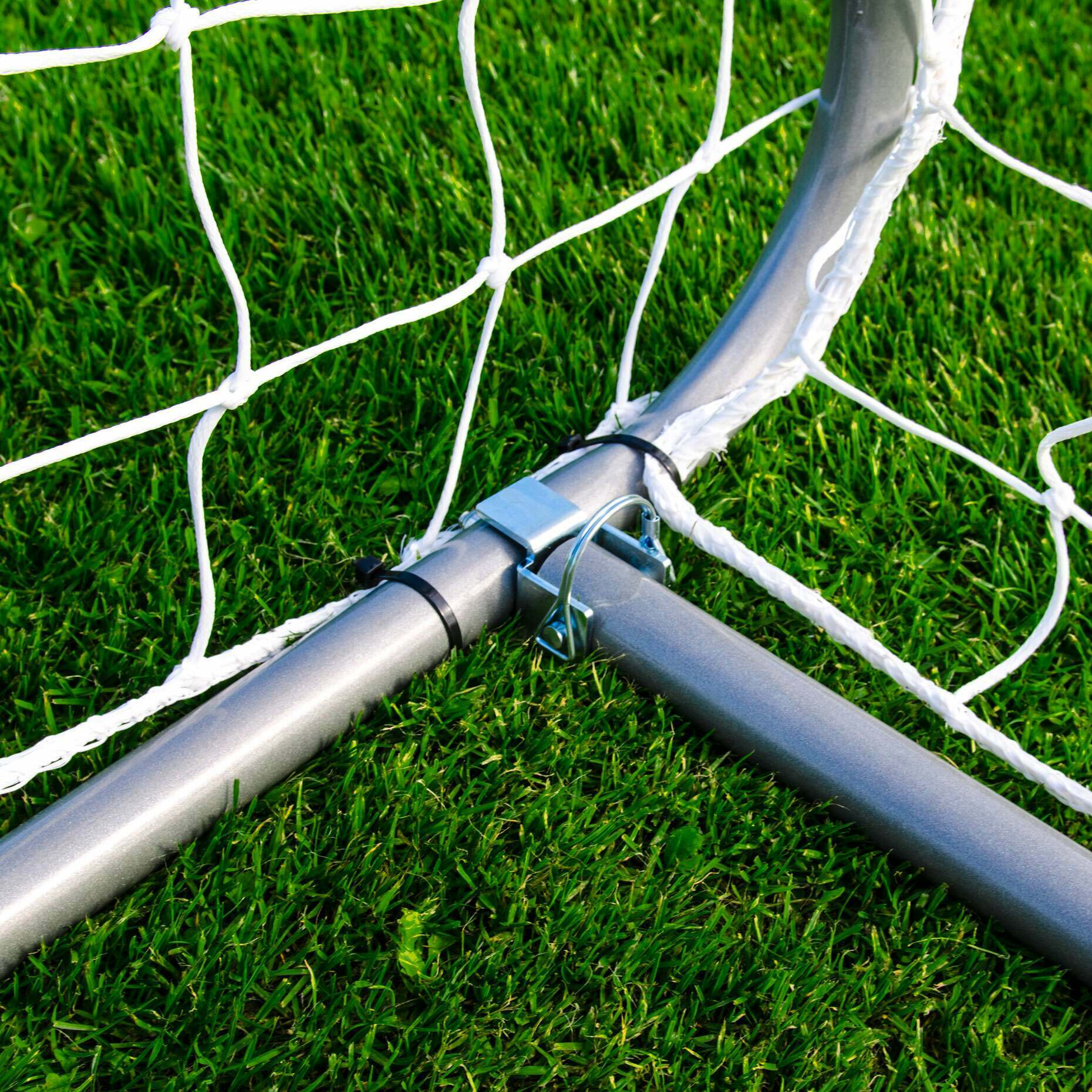 Easy To Store & Transport Football Goals | Premium Aluminium Football Goal