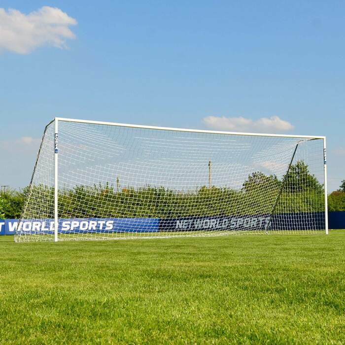 24 x 8 Alu60 Football Goals | Full-Size 11 A Side Matchday Football Goal