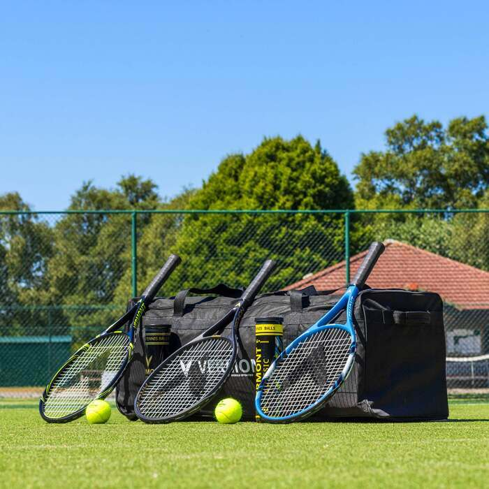4 Styles Of Vermont Tennis Racket Bags | Tennis Coaching Equipment