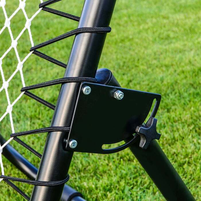Spring Tensioned Lacrosse Rebound Training Net